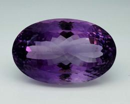 59.75Crt Natural Amethyst Stone JI52