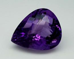 24.35Crt Natural Amethyst Stone JI82