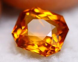 Madeira Citrine 3.53Ct Natural Vivid Golden Orange Color Citrine BN05