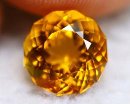 Madeira Citrine 3.02Ct Natural Vivid Golden Orange Color Citrine BN07