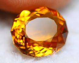 Madeira Citrine 3.20Ct Natural Vivid Golden Orange Color Citrine BN10