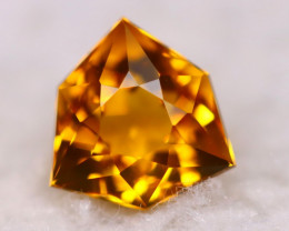 Madeira Citrine 2.30Ct Natural Vivid Golden Orange Color Citrine BN11
