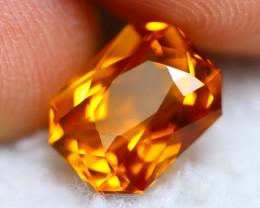 Madeira Citrine 2.54Ct Natural Vivid Golden Orange Color Citrine BN16