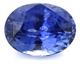 3.03 ct Oval Blue Sapphire: Royal Blue