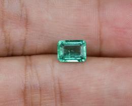 1.18ct Lab Certified Zambian Emerald