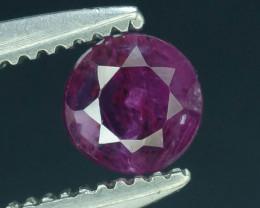 Top Clarity & Color 0.50 ct Rarest Pink Corundum Sapphire