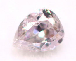 2.61mm Natural Untreated Fancy Pink Color Diamond A1727