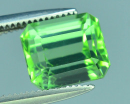 Top Grade 2.45 ct Lagoon Green Tourmaline Afghanistan