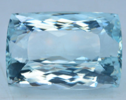 AAA Grade  77.50 ct Attractive Color Aquamarine