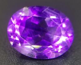 Amethyst, 2.5ct, ausgezeichnete Qualität, Tief violette Farbe!