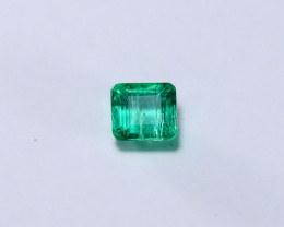 0.95ct Lab Certified Zambian Emerald