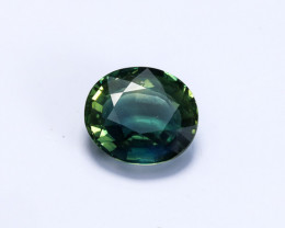 **UNHEATED** Lab Certified 4.07ct Blue-Green Sapphire