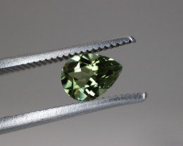 #110 0.60CT BEAUTIFUL PEAR UNTREATED EYE CLEAN