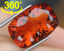 "20.37cts ""Red Citrine""  BIG Size, Top Polish"