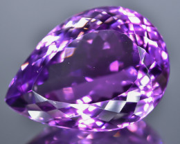 19.17 Crt Natural Amethyst Faceted Gemstone.( AB 26)