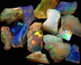 Cts.   20.95   Brilliant  Ethiopian Rough Opal          RF882