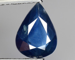 1.83 Crt Natural Blue Sapphire Good Quality  Gemstone. BS 11