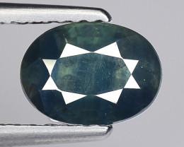 1.24 Crt Natural Blue Sapphire Good Quality  Gemstone. BS 14