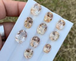 58 carats  topaz Gemstones parcel