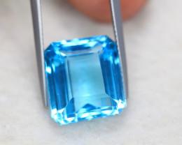 17.05Ct Natural Swiss Blue Topaz Octagon Cut Lot LZ5563