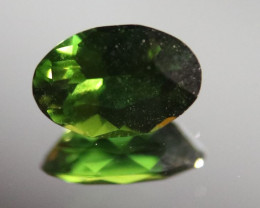 Chrome Tourmaline .65ct, Natural, Untreated, Sourced Laletema, Tanzania, Ov