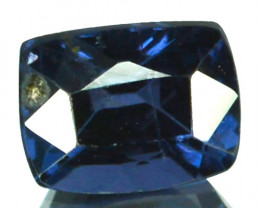 Natural Deep Blue Spinel 0.84 Cts Cushion Cut Sri Lanka