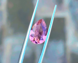 1.35 Ct Natural Pink Pear Shape Transparent Tourmaline Gem