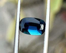 1.05 Ct Natural Dark Blue Transparent Tourmaline Gemstone