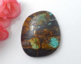 60.5cts Sale Turquoise ,Handmade Gemstone ,Turquoise Cabochons F348