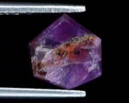 Rarest 3.0 ct Trapiche Pink Kashmir Sapphire ~ AD