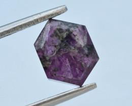 Rarest 3.50 ct Trapiche Pink Kashmir Sapphire ~ AD