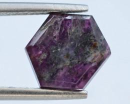 Rarest 2.60 ct Trapiche Pink Kashmir Sapphire ~ AD
