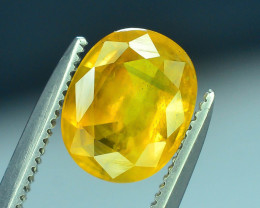 Top Clarity & Color 1.90 ct Rarest Yellow Sapphire