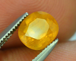 Top Color 1.35 ct Rarest Yellow Sapphire~Sri Lanka