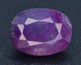 1.45 ct Untreated Pink Corundum Kashmir Sapphire T