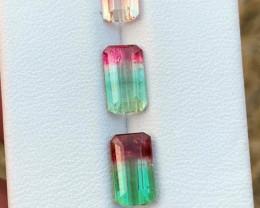 5.25 Carats Bi-color/Watermelon Tourmaline Gemstones