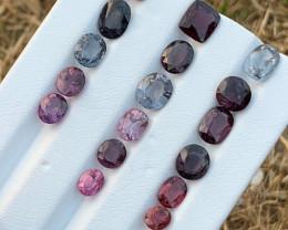 30.20 Carats Natural Spinel Gemstones parcel