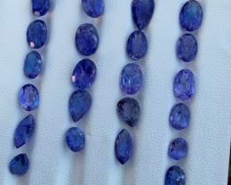 24 carats Tanzanite Gemstones parcel