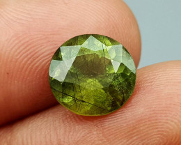 5.15Crt Peridot With Rutile  Natural Gemstones JI84