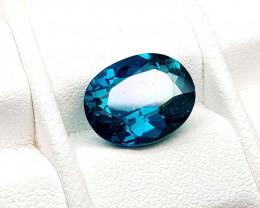 4.25Crt Green Topaz Coated  Natural Gemstones JI84