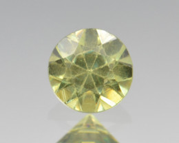 Natural Demantoid Garnet 0.43 Cts, Full Sparkle Faceted Gemstone