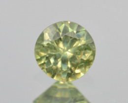 Natural Demantoid Garnet 0.44 Cts, Full Sparkle Faceted Gemstone