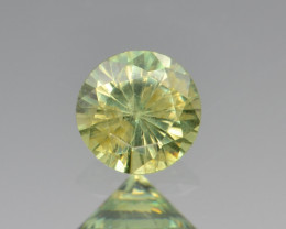 Natural Demantoid Garnet 0.47 Cts, Full Sparkle Faceted Gemstone