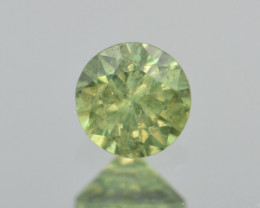 Natural Demantoid Garnet 0.49 Cts, Full Sparkle Faceted Gemstone