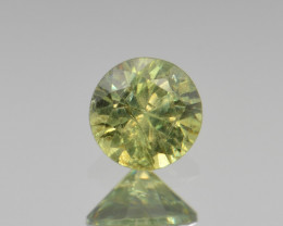 Natural Demantoid Garnet 0.52 Cts, Full Sparkle Faceted Gemstone