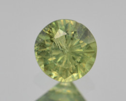 Natural Demantoid Garnet 0.54 Cts, Full Sparkle Faceted Gemstone