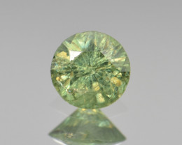 Natural Demantoid Garnet 0.55 Cts, Full Sparkle Faceted Gemstone