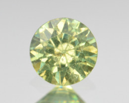 Natural Demantoid Garnet 0.56 Cts, Full Sparkle Faceted Gemstone
