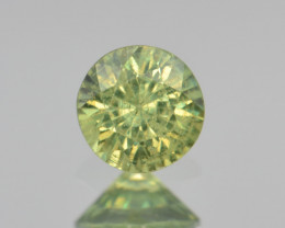 Natural Demantoid Garnet 0.58 Cts, Full Sparkle Faceted Gemstone