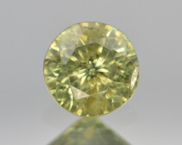 Natural Demantoid Garnet 0.59 Cts, Full Sparkle Faceted Gemstone